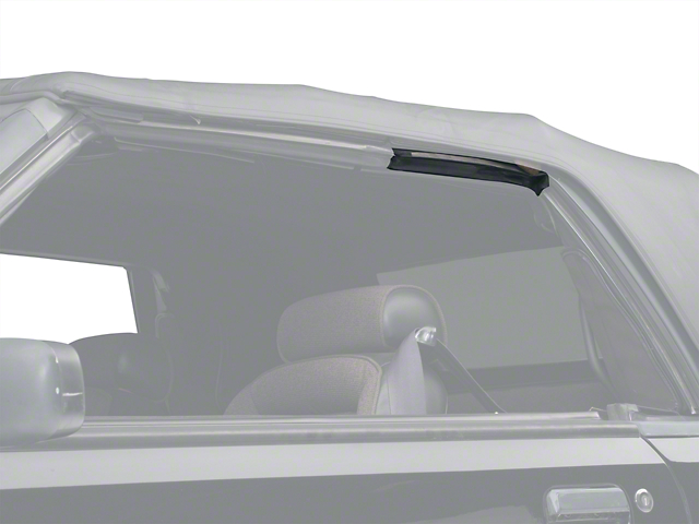 OPR Convertible Top Side Rail Weatherstrip - Left Side (83-93 Convertible)