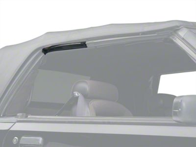OPR Convertible Top Side Rail Weatherstrip - Right Side (83-93 Convertible)