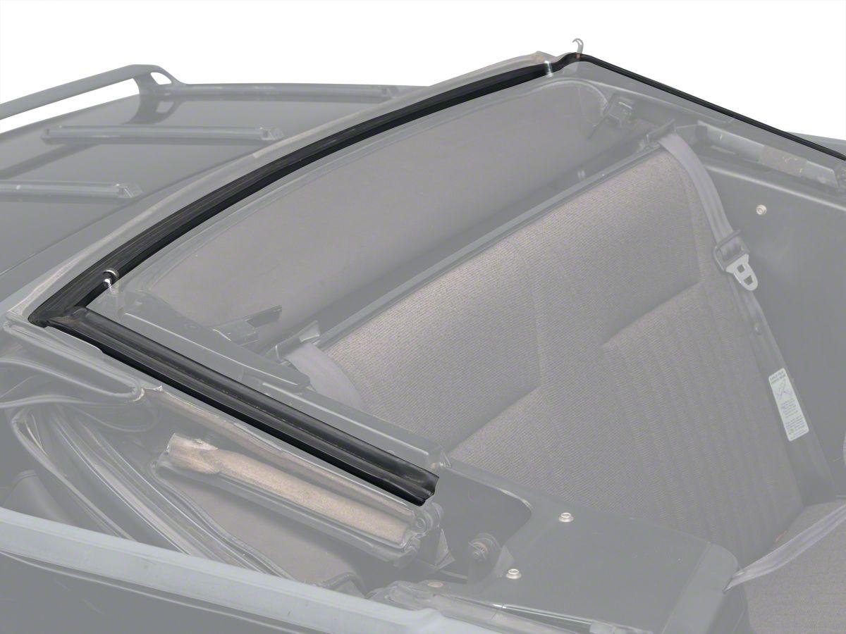 pair 1979-1993 Ford Mustang convertible or hardtop door weatherstrip seals