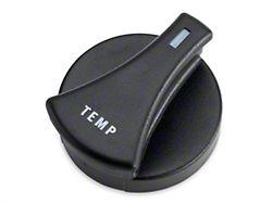 OPR HVAC Control Knob; Temp (87-89 All)