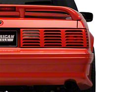 Axial Replacement GT Style Tail Light Lens; Passenger (87-93 All)