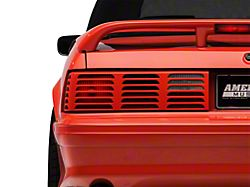 Axial Replacement GT Style Tail Light Lens; Driver Side (87-93 All)