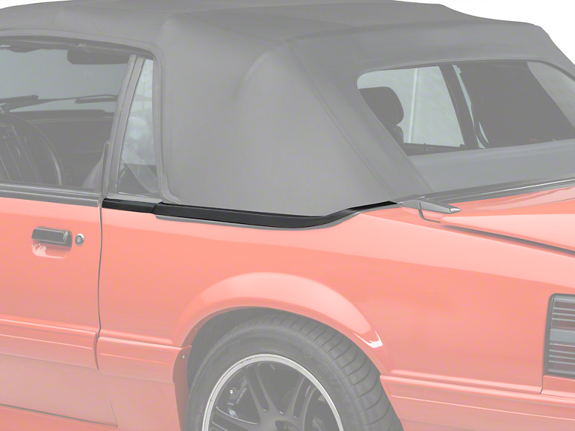 OPR Convertible Top Boot Well Molding - Left Side (83-86 Convertible)
