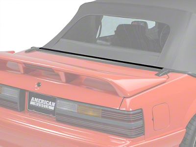 OPR Rear Center Well Molding Weatherstripping (87-93 Convertible)