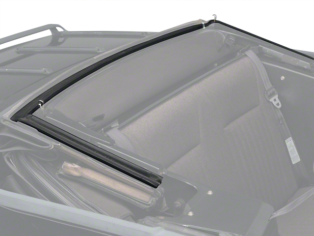 OPR Convertible Top Header Weatherstrip (83-84 Convertible)