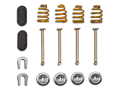 OPR Rear Brake Shoe Hold Down Kit (80-93 All, Excluding Cobra)