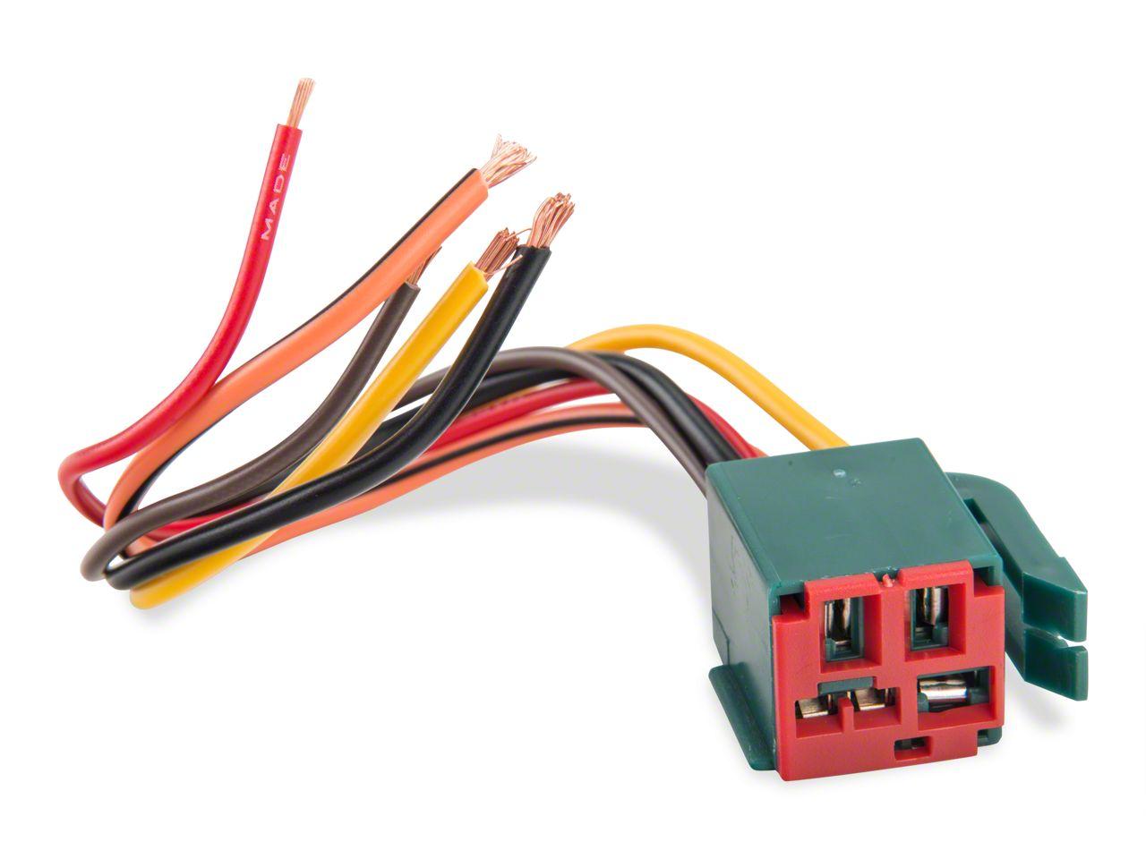 Opr mustang fuel pump relay repair harness all