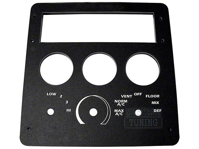 Radio/HVAC Relocation Panel (90-93 All)