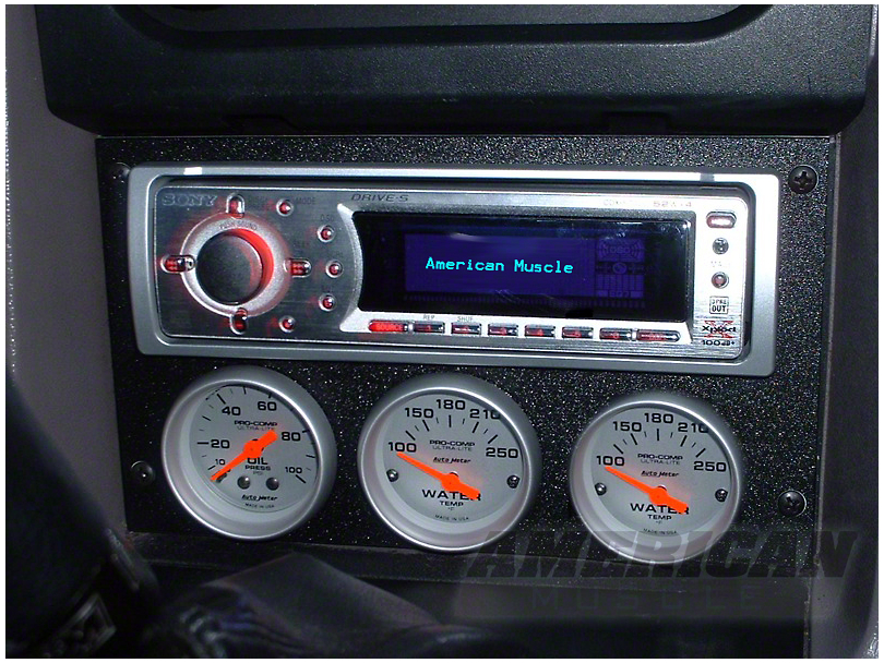 Mustang Radio Relocation Panel 87 93 All Free Shipping