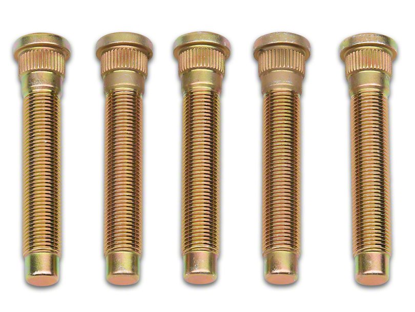 Front Wheel Stud; 0.549-Inch Knurl (05-14 All)