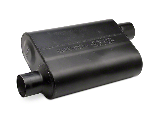 Flowmaster Super Flow 44 Series Offset/Offset Oval Muffler - 2.5 in. (Universal Fitment)