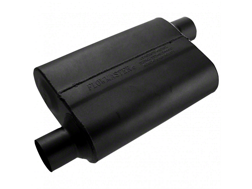 Flowmaster Original 40 Series Offset Muffler - 2.5 in. (79-04 All, Excluding 99-04 Cobra)