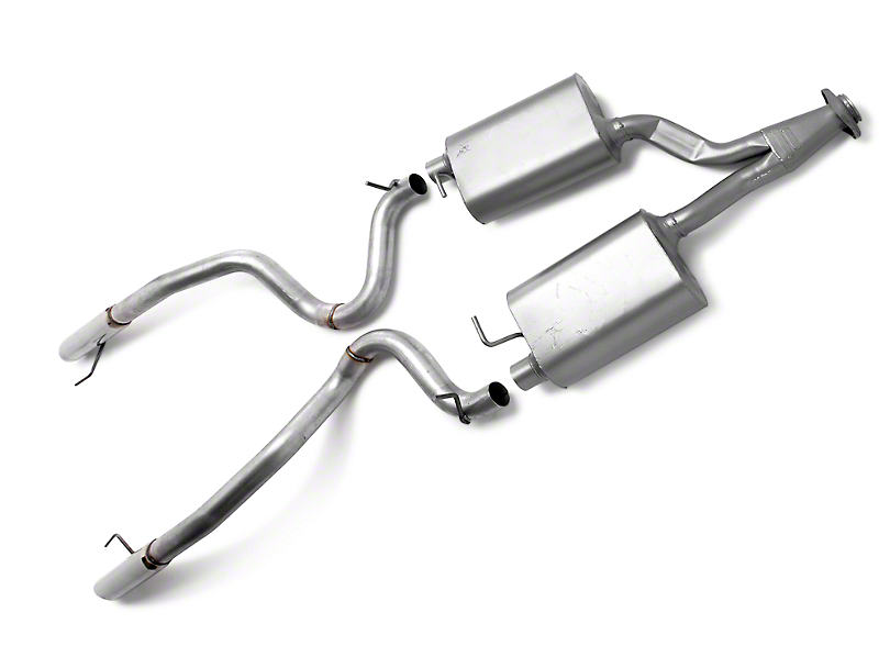 Flowmaster Force II Dual Cat-Back Exhaust (99-04 V6)