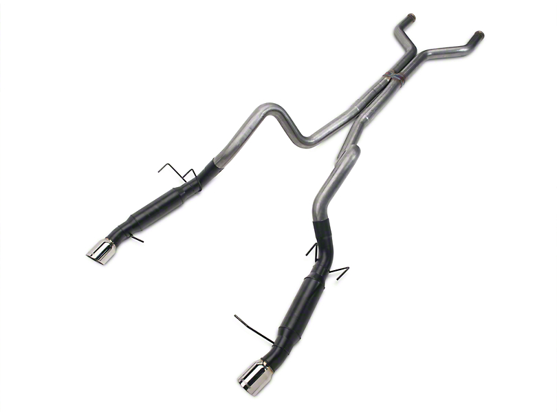 Flowmaster Outlaw Cat-Back Exhaust - Stainless Steel (11-12 GT)