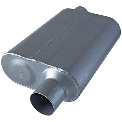 Flowmaster 40 Series Offset/Offset Oval Muffler - 2.5 in. (79-04 All, Excluding 99-04 Cobra)