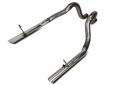 Flowmaster 2.5 in. Stainless Tailpipes (87-93 LX; 1986 GT)