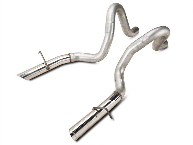 Flowmaster Mustang 3 In Tailpipes W Stainless Tips 15820 87 93 Lx