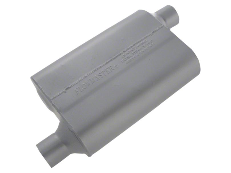 Flowmaster Original 40 Series Offset Muffler - 2.25 in. (79-04 All, Excluding 99-04 Cobra)