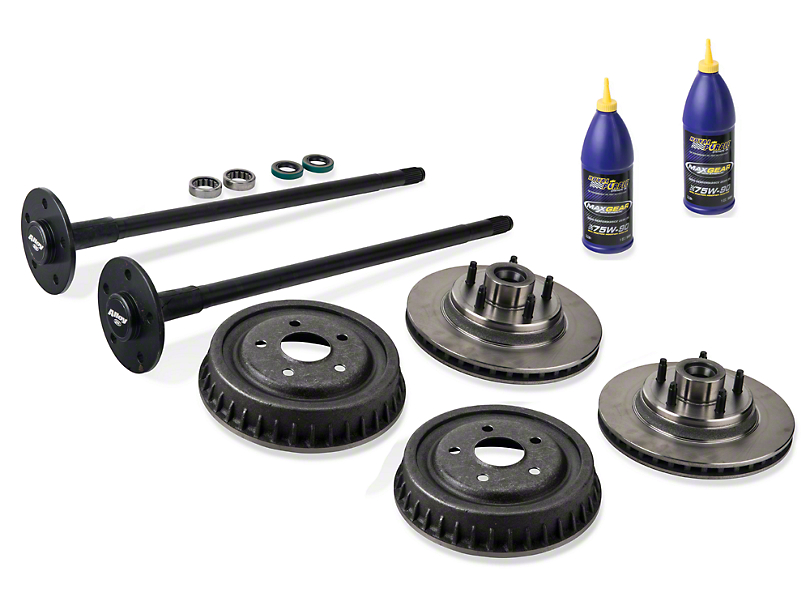 Alloy USA Complete 5-Lug Conversion Kit; 28 Spline (87-93 5.0L)
