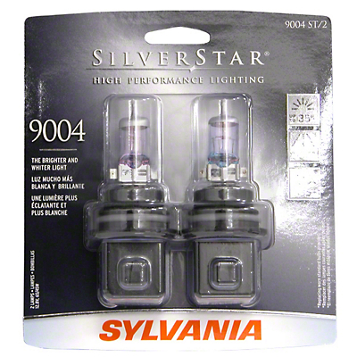 Sylvania Silverstar Headlight Bulbs - 9004 (87-93 All)