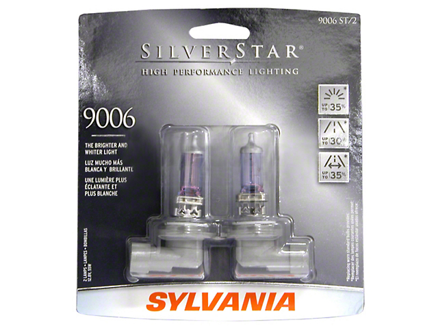 Sylvania Silverstar Light Bulbs - 9006