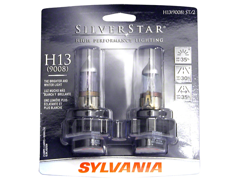 Sylvania Silverstar Headlight Bulbs - H13 (05-12 All)