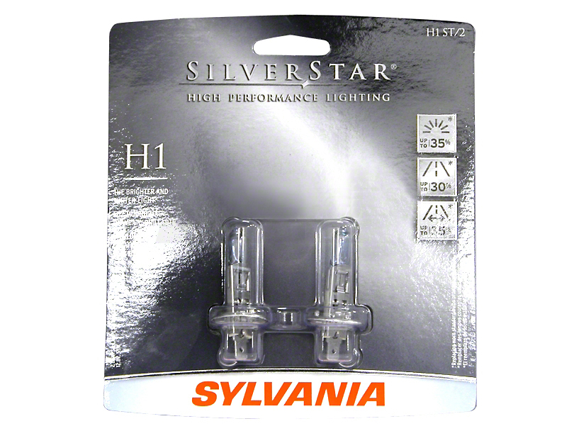 Sylvania Silverstar Headight Bulbs - H1 (99-09 w/ Aftermarket Headlights)
