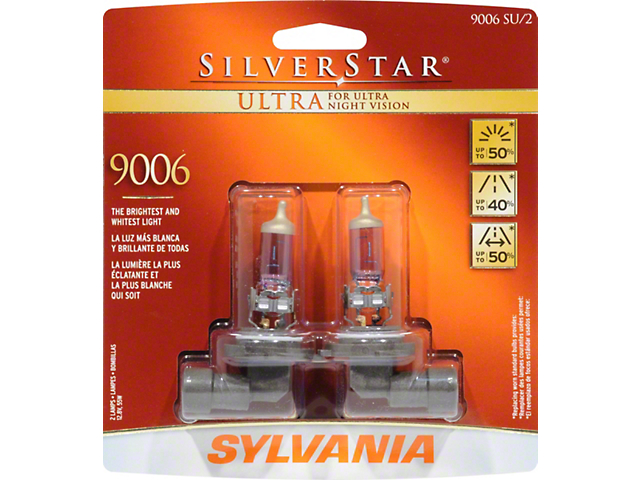 sylvania silverstar ultra light bulbs - Sylvania Light Bulbs