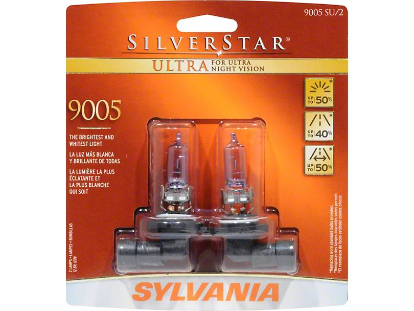 Sylvania Silverstar Ultra Light Bulbs - 9005