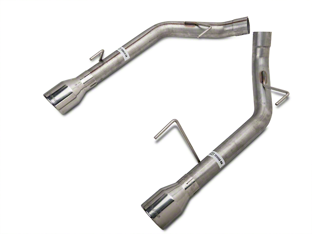 Pypes Muffler-Delete Axle-Back Exhaust with Polished Tips (05-10 GT, GT500)