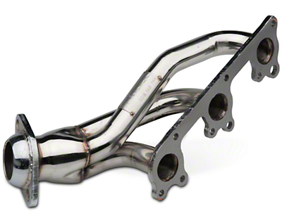 Pypes 1-5/8 in. Polished Shorty Headers (05-10 V6)
