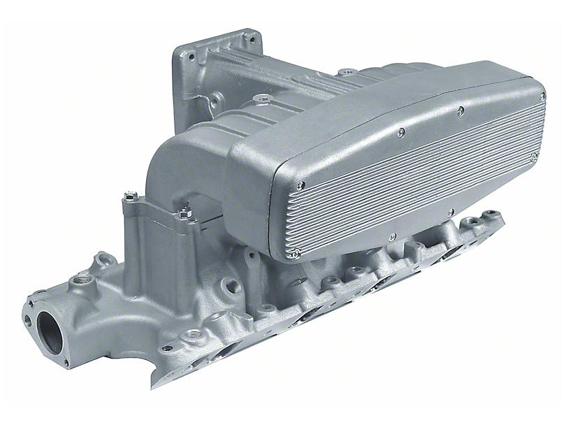 Professional Products Typhoon Intake Manifold; Satin (86-95 5.0L)