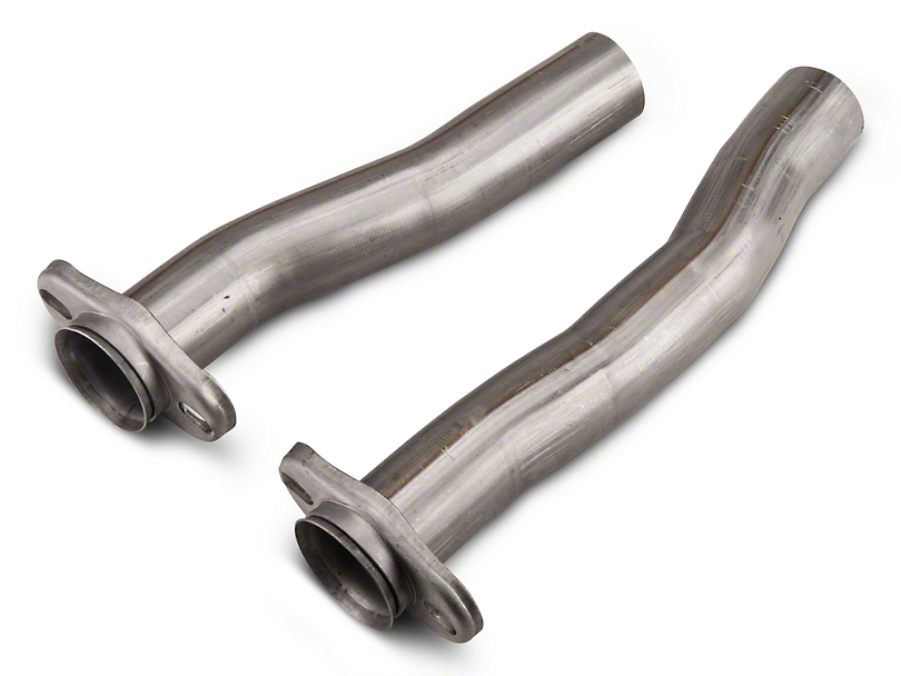 Pypes 2.5 in. Stainless Steel Replacement Flow Tube Kit (79-04 All, Excluding 03-04 Cobra)