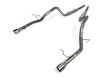 Pypes Mid-Muffler Cat-Back Exhaust (11-14 V6)