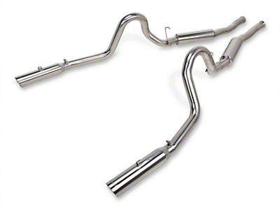 Pypes Pype-Bomb Cat-Back Exhaust (1986 GT; 86-93 LX; 94-04 GT, Mach 1, Bullitt)