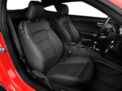 Mustang Rear Seat Delete  Black 1517 Fastback  Free Shipping