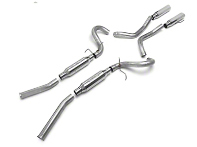 SLP Loudmouth Cat-Back Exhaust (99-04 GT, Mach 1)