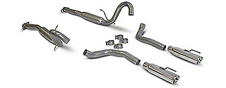 SLP Loudmouth Cat-Back Exhaust (1998 GT, Cobra)