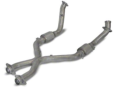 SLP Catted X-Pipe (99-04 4.6L)