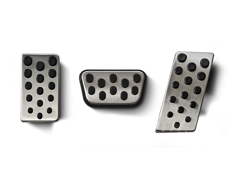 Modern Billet Bullitt Style Pedal Covers (94-04 w/ Automatic Transmission)