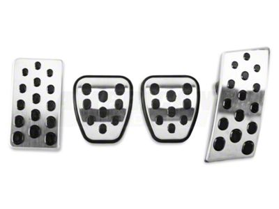 Modern Billet Bullitt Style Pedal Covers (94-04 w/ Manual Transmission)