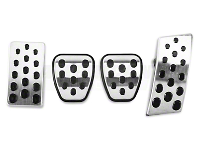 Bullitt Style Pedal Covers (94-04 w/ Manual Transmission)