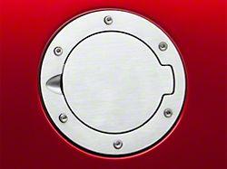 SpeedForm Bullitt Style Fuel Door; Brushed (94-04 All)