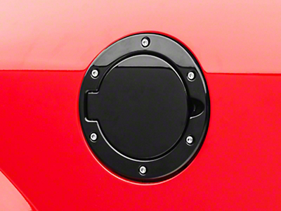 SpeedForm Bullitt Style Black Fuel Door (05-09 All)