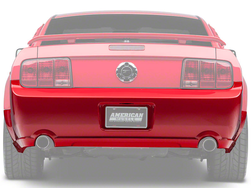 Ford Rear Bumper Cover - Unpainted (05-09 GT, V6)