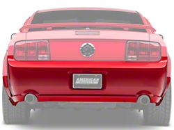 Ford Rear Bumper Cover; Unpainted (05-09 GT, V6)
