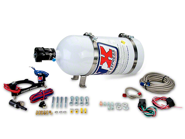Nitrous Express Coyote Nitrous Kit; Plate System (11-21 GT)