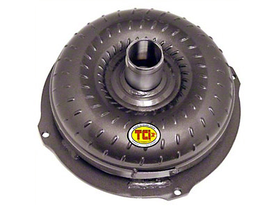 TCI Street Fighter AOD Lockup Torque Converter w/ Anti-Balloon Plate (80-93 V8)