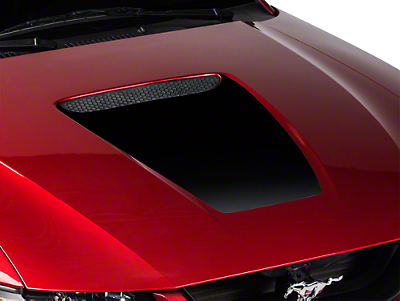 American Muscle Graphics Black Hood Decal (99-04 GT; 99-02 V6)