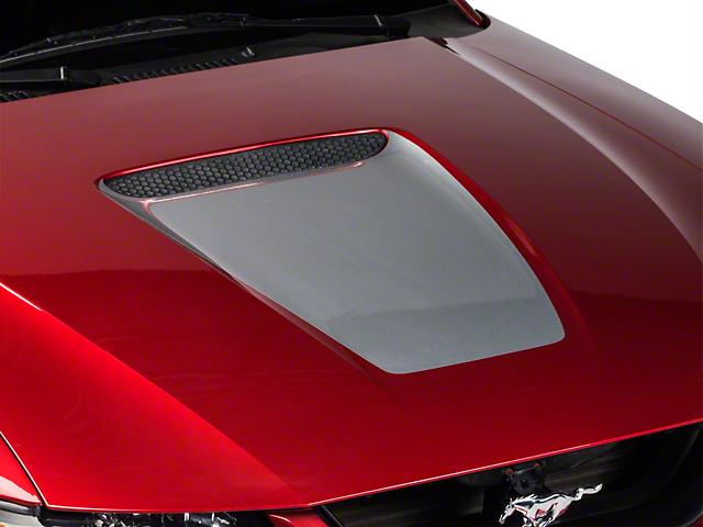 SEC10 Hood Decal; Silver (99-04 GT; 99-02 V6)